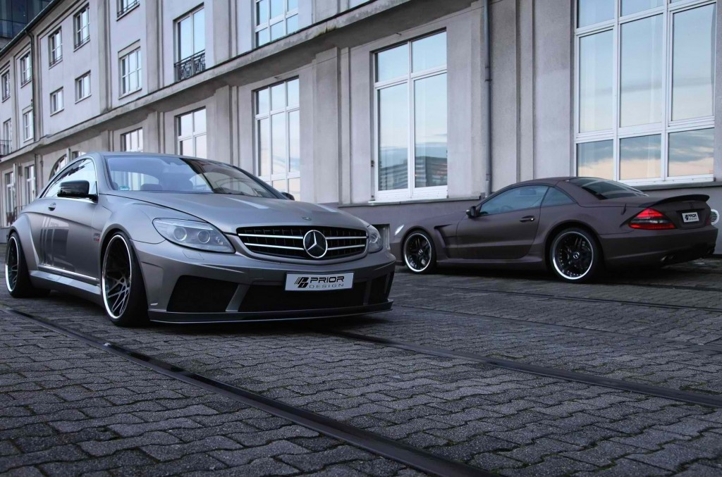 Prior Design Got Their Hands on the Mercedes-Benz CL for the Second Time6