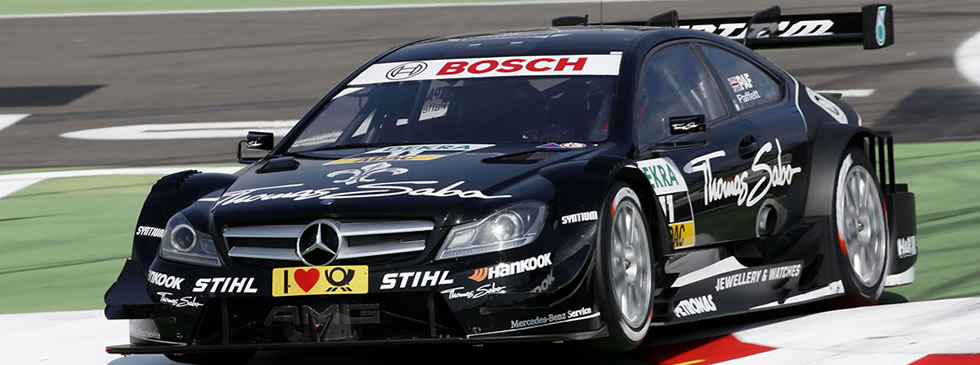Gary Paffett in DTM action