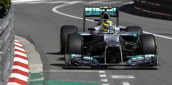 schumacher monacoGP 597x296 Monaco GP: Schumacher Tops Qualifying, Will Start at P6