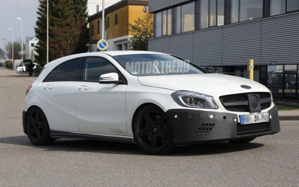 A45 AMG 003 597x373 Mercedes Benz Releases Official Info on A45 AMG