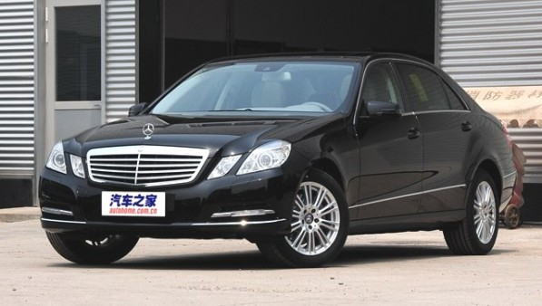 E300l China 597x338 MB Could Sell E Class Under Beijing Brand in China