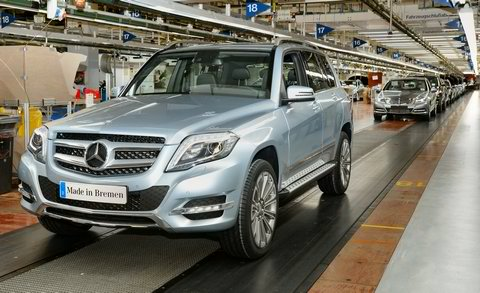 GLK Started Production in Bremen