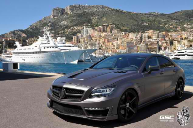 German Special Customs Customized the 2012 Mercedes CLS63 AMG16