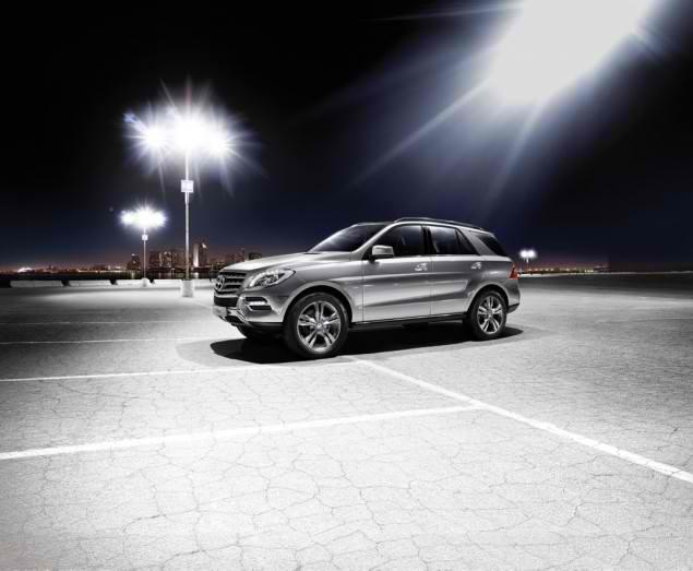 Presenting the ML500 4Matic BlueEFFICIENCY