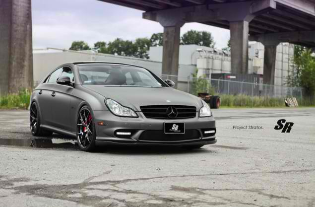 SR Auto Group Version of the Mercedes CLS63 AMG2