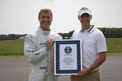 The SLS AMG Roadster made it to the Guinness World Record