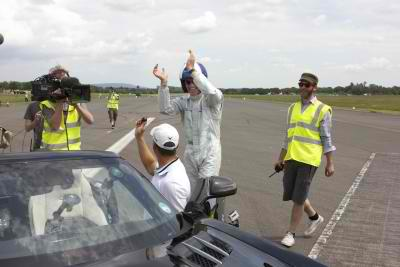 The SLS AMG Roadster made it to the Guinness World Record4