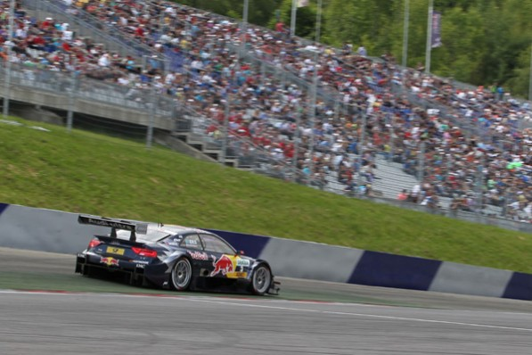 dtm redbullring paffett 597x398 Paffett Gets Podium Finish at Red Bull Ring