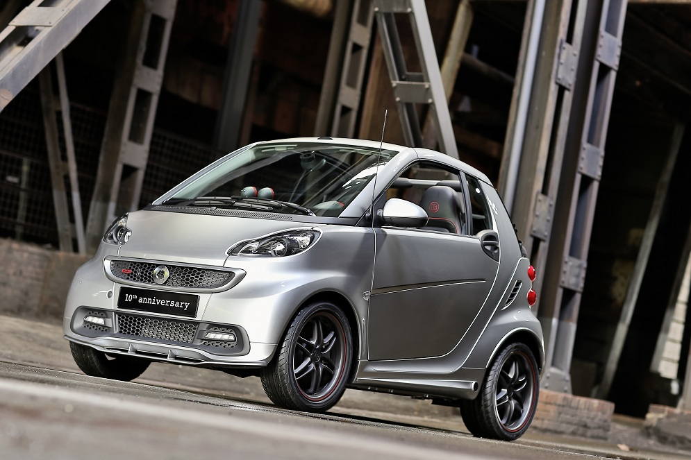 "12C873 05 ""10th Anniversary"" Special smart fortwo BRABUS Model in the Works"