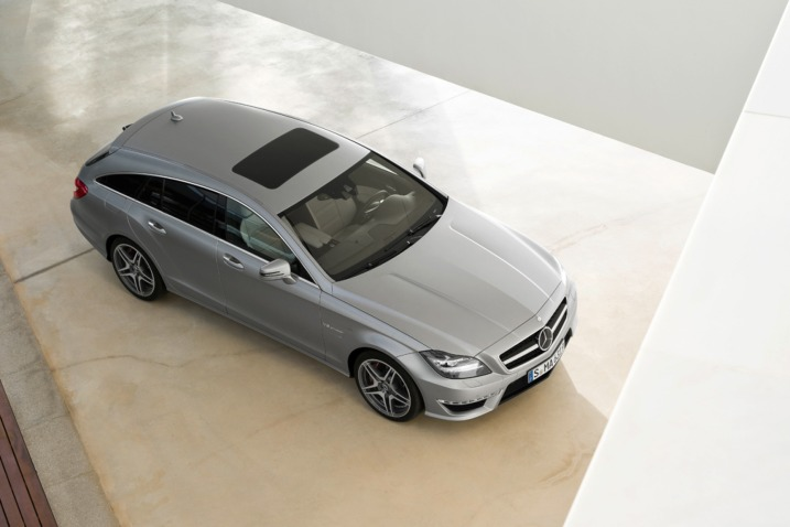 2013 CLS 63 AMG Shooting Brake 001 Mercedes Benz Officially Unveils CLS 63 AMG Shooting Brake
