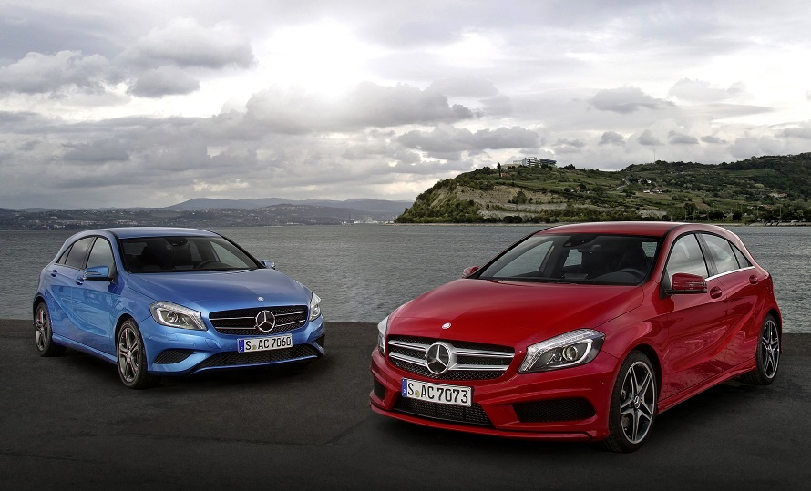 AClass BClass euro 6 Mercedes Benz A Class, B Class Petrol Engines Already Meet Euro 6 Standard