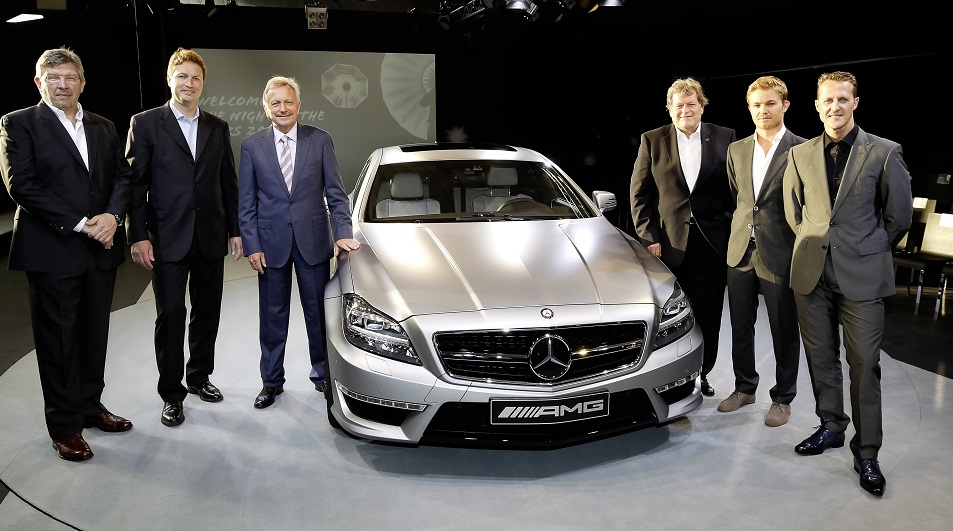 CLS 63 AMG Shooting Brake World Premiere CLS 63 AMG Shooting Brake Gets German Grand Prix World Premiere