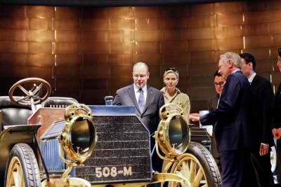 Mercedes-Benz Museum Welcomed Royal Guests