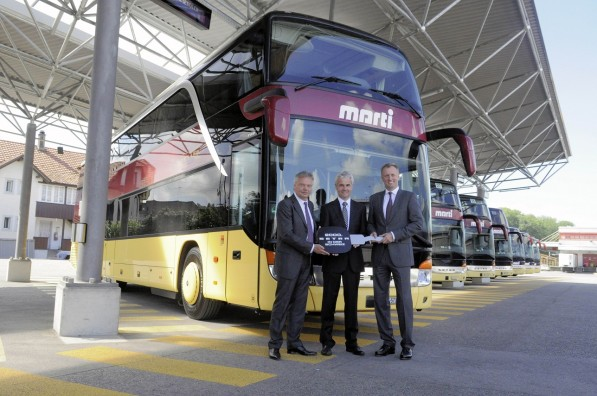 Setra 2000 597x396 Setra Delivers 2000th Bus in Switzerland