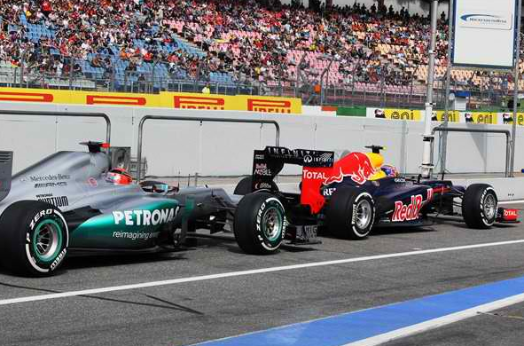 schumacher germanGP qualifying All Set for Hockenheim: Schumacher starting 3rd on German GP Grid
