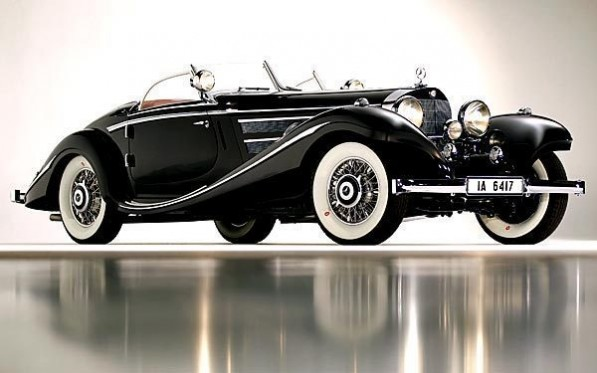 1936 MercedesBenz 540K SpecialRoadster 597x373 1936 Mercedes Benz 540K Special Roadster Fetches $11.77M in Auction