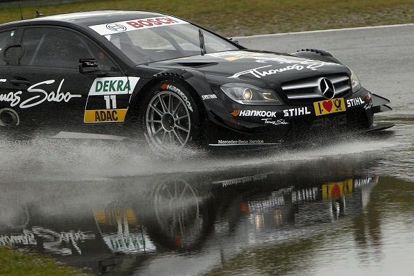 47E6151 1 DTM 2012: Green 4th, Paffett 7th