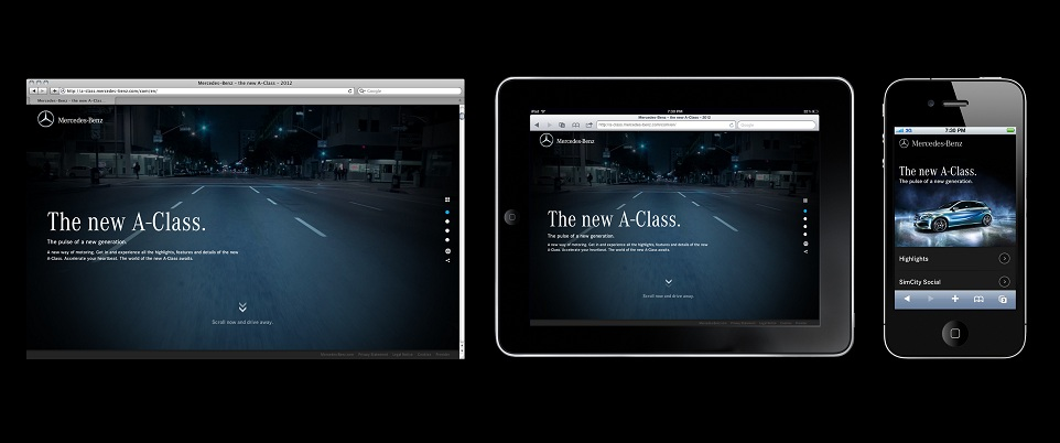 A Hub highres e Mercedes Benz Launches Ad Campaign for New A Class