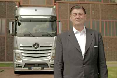 Actros won the red dot award2