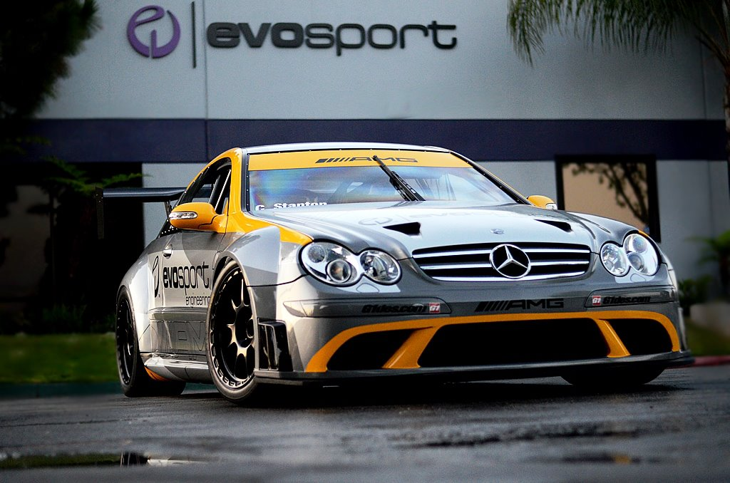 MBBS Evosport AMG CLK63 Black Series 02 MBBS Evosport Tunes Mercedes Benz AMG CLK63 Black Series for Pirelli World Challenge