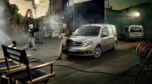MacGuyver Mercedes Benz1 597x331 Video: MacGyver with Mercedes Benz Citan Take Out the Bad Guys