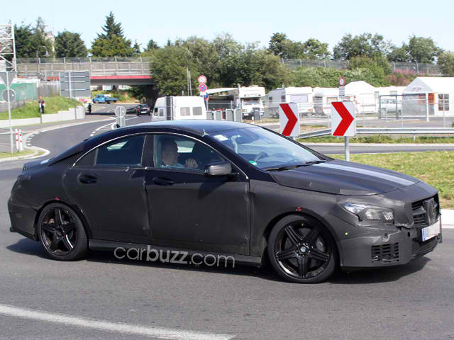 Mercedes CLA 45 AMG Spied3