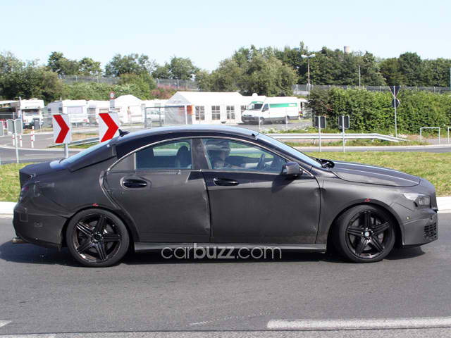 Mercedes CLA 45 AMG Spied4