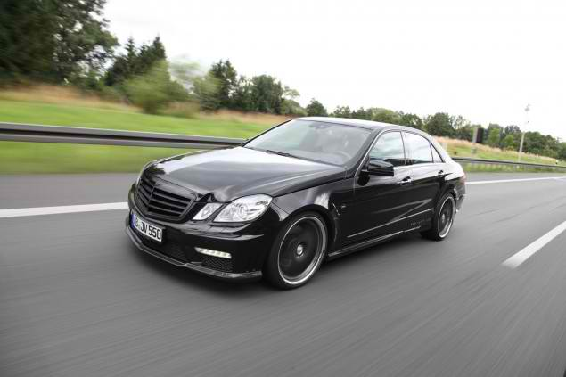 Mercedes E500 by Vath Power and Elegance Based on Mercedes E500 by Vath