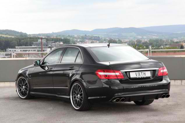 Power and elegance based on mercedes e500 by vath for Mercedes benz e500 price
