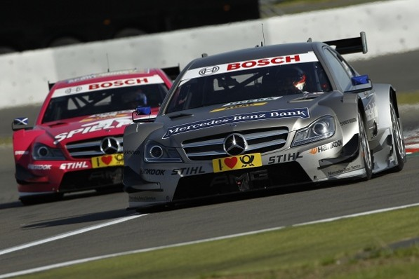 jamiegreen DTM nurburgring 597x398 DTM 2012: Green Places Fourth at Nurburgring