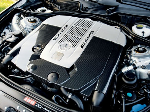 mercedes benz s65.5 597x447 AMG to Engineer All Mercedes V12 Engines