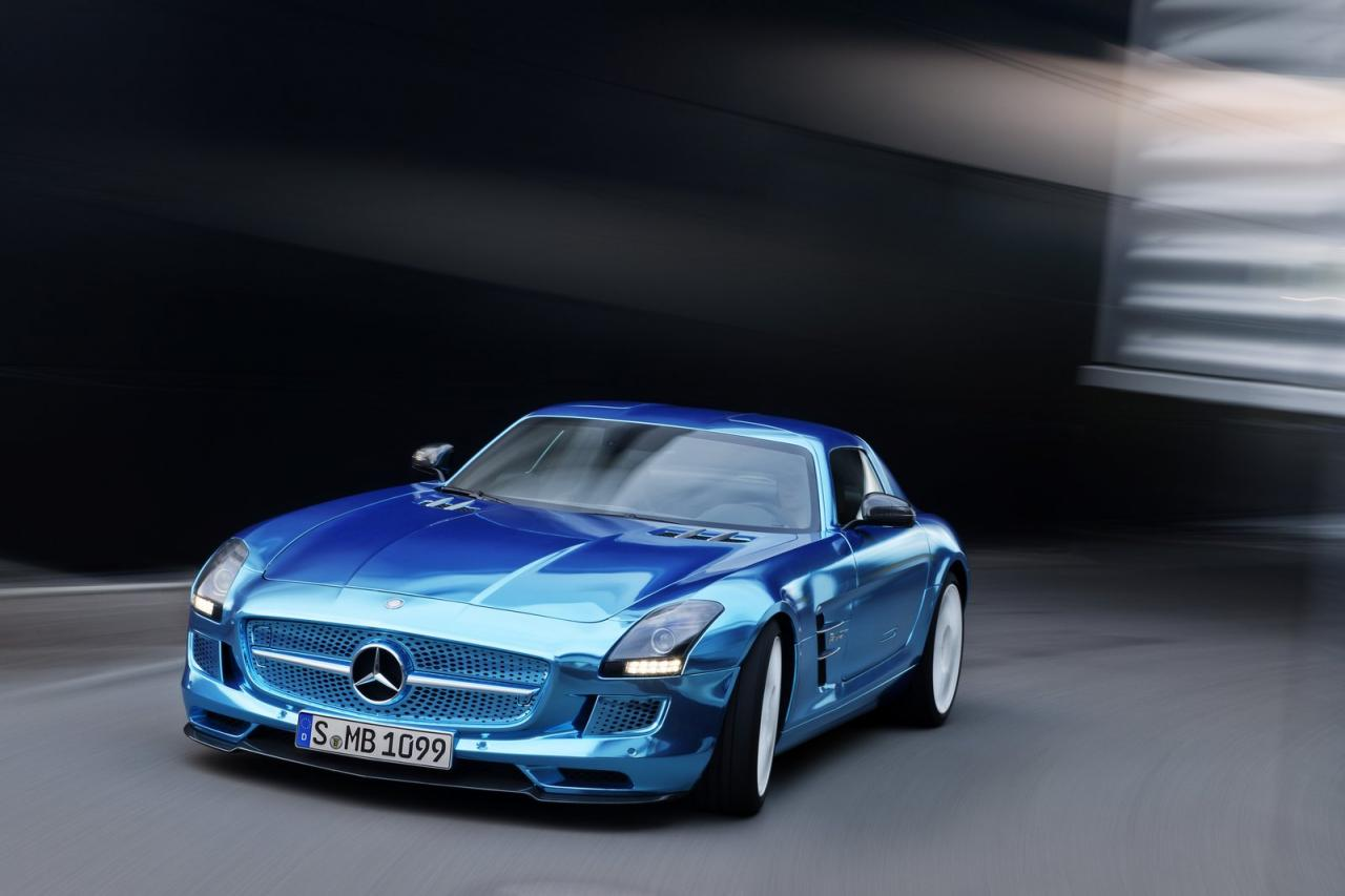 tagged with amg electric drive sls