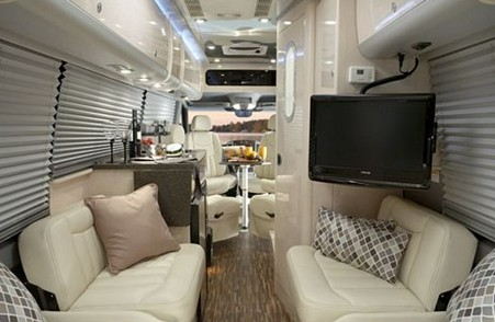 Airstream Interstate Interior Mercedes Sprinter by Airstream