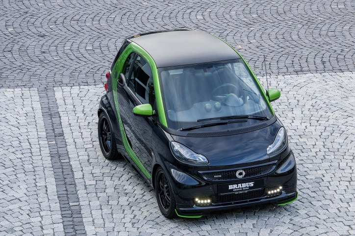 Brabus42 006 724x482 Brabus fortwo Is Mean And Green