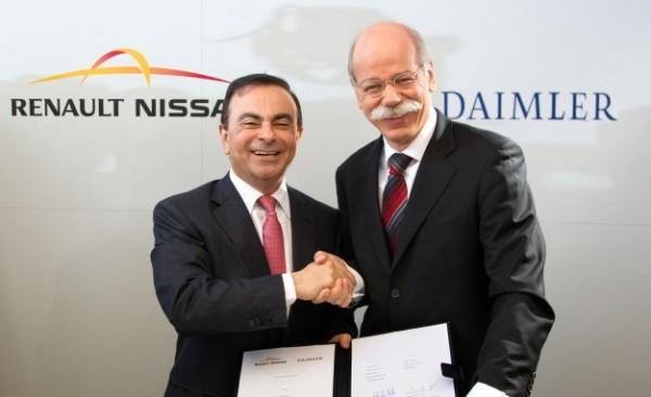 Daimler Mercedes Benz Renault Nissan Pact New Projects in Daimler and Renault Nissan Alliance