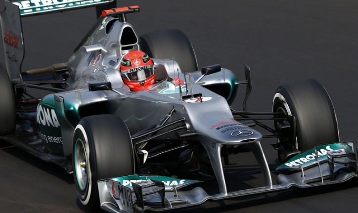 F12012MONZA 1286826 724x431 F1: Mercedes with 6 7 Finish in Italian Grand Prix