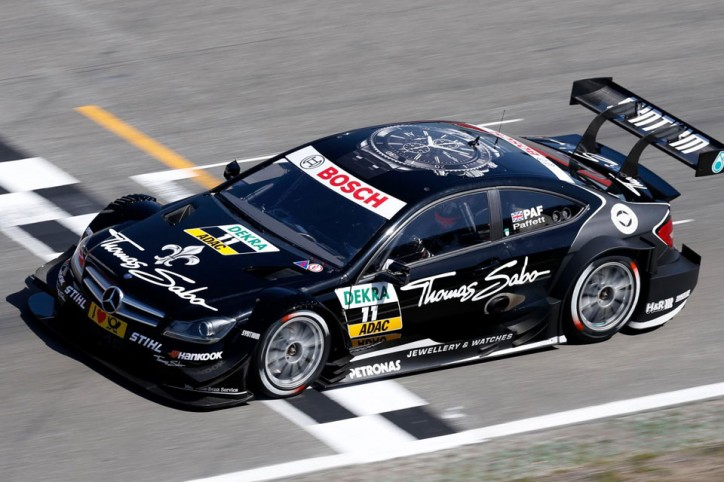 Gary Paffett Mercedes Hockenheim DTM 2012 724x482 Valencia One Of Two Deciding Races For DTM This Season