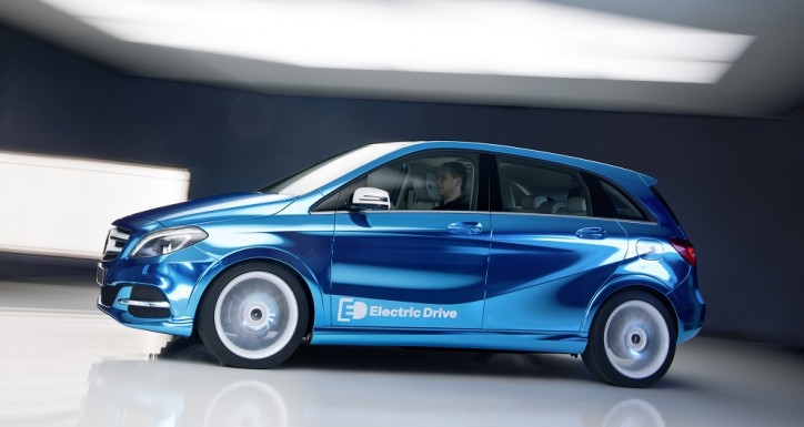 Mercedes Benz B Class Electric Drive 724x385 Mercedes Benz B Class Electric Drive Bound for Paris Motor Show