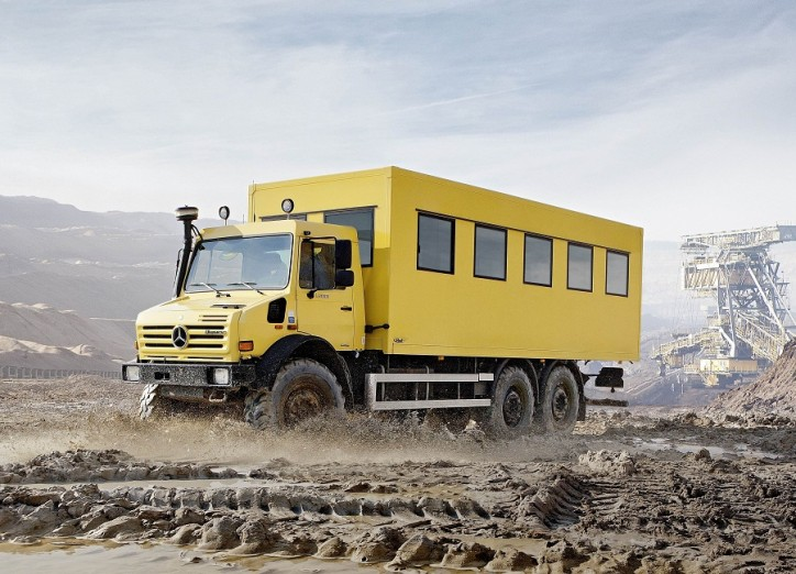 Mercedes Benz Unimog U5000 6x6 truck 724x522 A Bigger, More Versatile Mercedes Benz Unimog U 5000 6x6