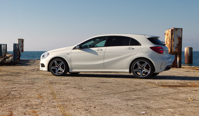 new AClass Mercedes Benz Posts Record August Sales Figures