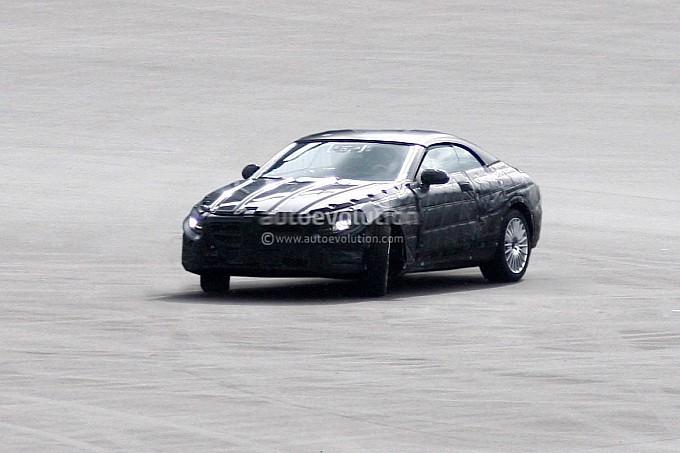 spyshots mercedes s class cabrio 2 2014 S Class Cabrio Spied Testing
