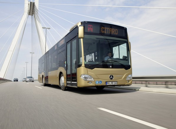 the new mercedes benz citaro i 1 597x437 Euro Parliament Mandates DRLs For Trucks