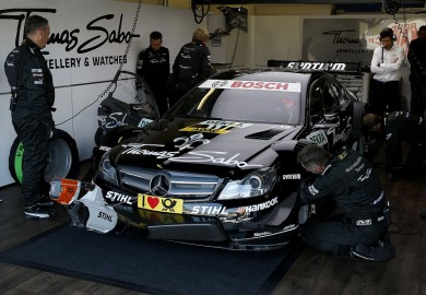 Motorsports / DTM: german touring cars championship 2012, 8. round at Oschersleben, Germany