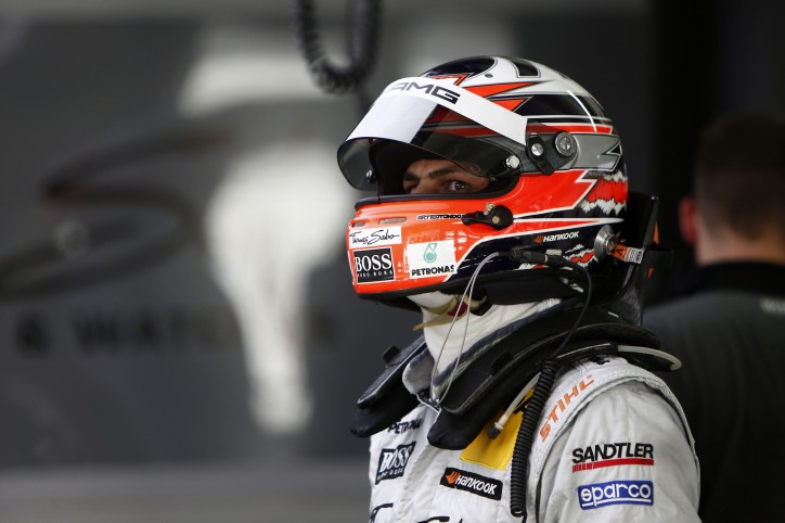Gary Paffett DTM Mercedes 724x482 Paffett 2nd at Hockenheim, Fails to Clinch DTM Title
