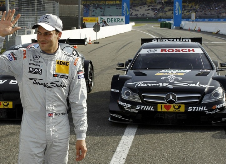 Gary Paffett Mercedes AMG C Coupe DTM 724x527 Paffett to Start in P2 at DTM Finale