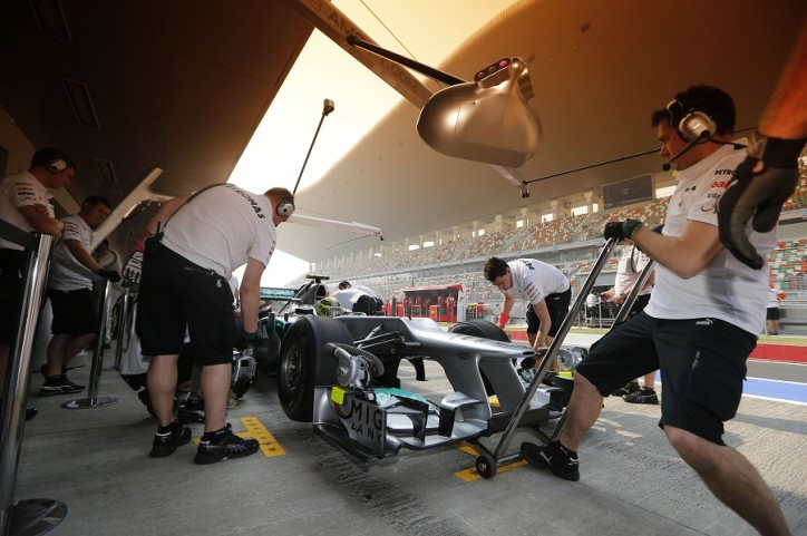 Mercedes AMG Petronas Indian Grand Prix F1 724x481 F1: Indian Grand Prix Preview