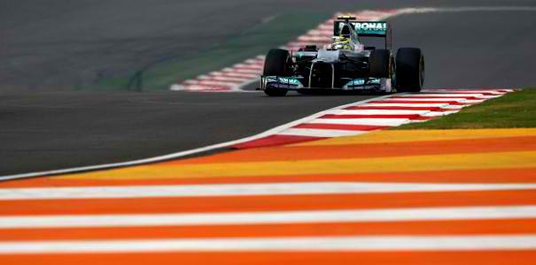 Mercedes AMG Petronas Indian Grand Prix Rosberg F1: Rosberg Starting at P10 in India