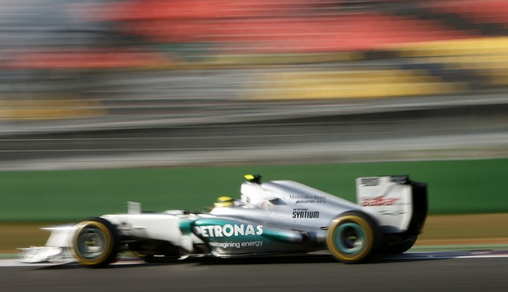 Mercedes AMG Petronas Korean Grand Prix F1 724x417 F1: Mercedes Drivers Qualify in Top Ten for Korean GP