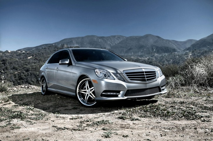 Mercedes Benz E350 2012 724x482 Mercedes Benz Recalls E350 and E550 Units for Airbag Issue