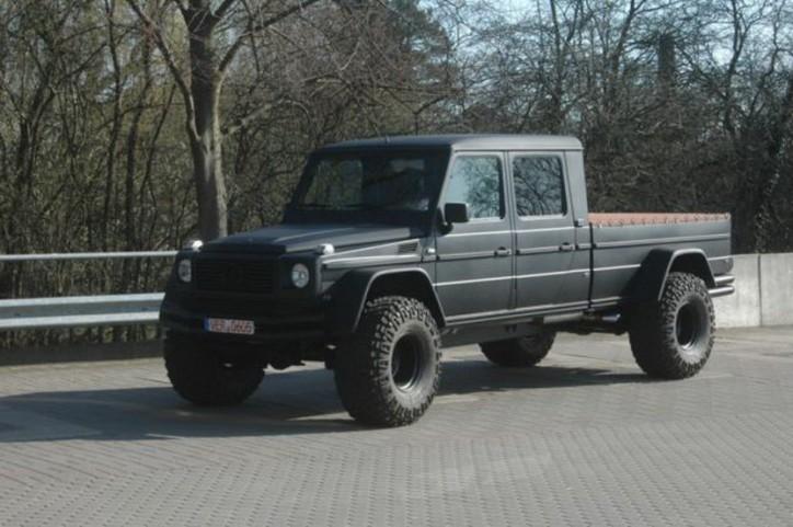 Mercedes g pickup truck wagen 2 a for 2012 mercedes benz truck